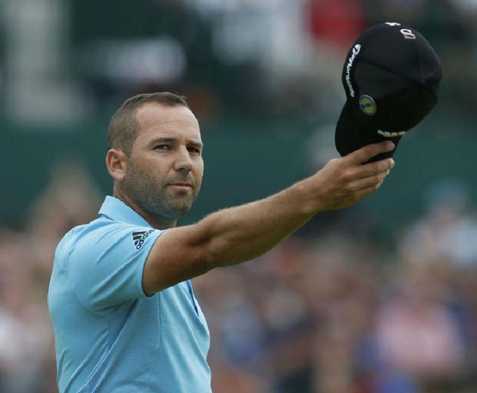 Sergio garc�a tuvo un d�a fant�stico y roz� la gesta.