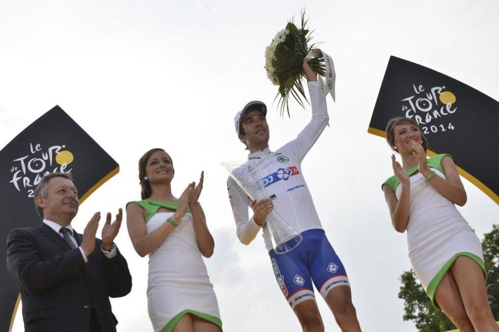 El ciclista francés, de 24 años, logró llevarse al premio al mejor joven de esta edición.