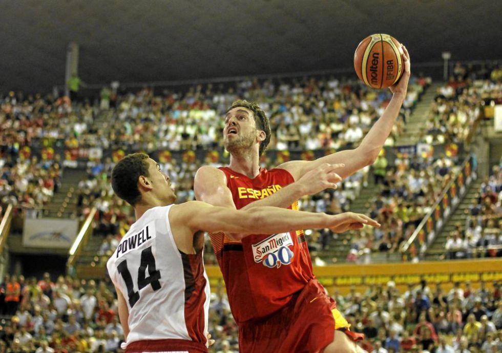 El jugador de Chicago Bulls lideró la estadística española con 20 puntos, 8 rebotes y 3 asistencias en 19 minutos de juego.
