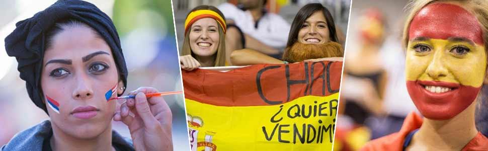 La bellezas anónimas del Mundial de España