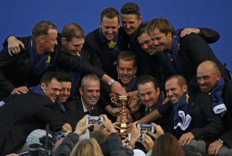 Europa gan� la Ryder Cup por tercera vez consecutiva