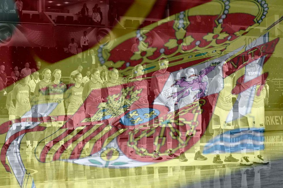 Selección española de baloncesto durante el Mundial femenino