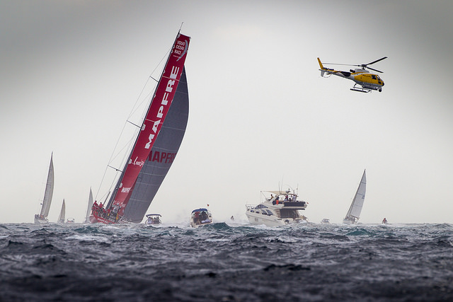 Los primeros bordos de la flota de la Volvo Ocean Race 2014