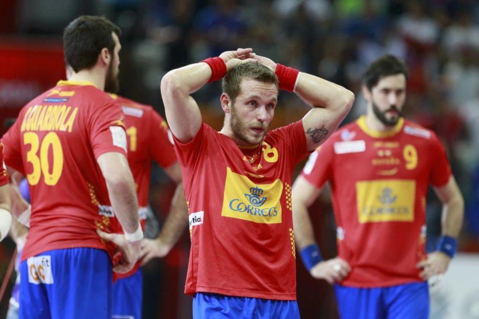 Francia derrot� a Espa�a en la semifinal del Mundial de Qatar de balonmano en un intenso partido.