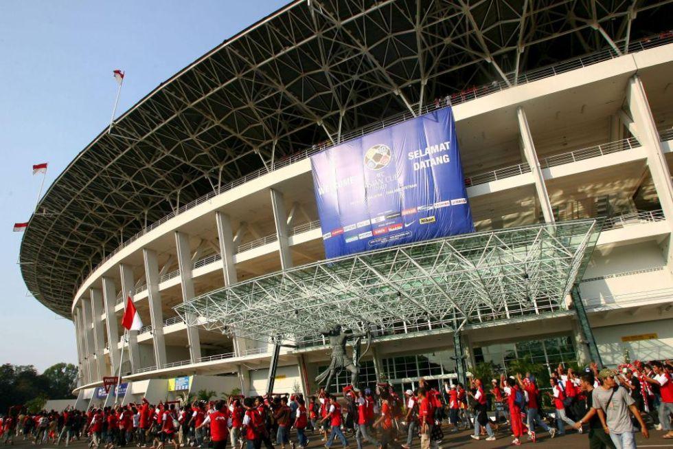 <strong>9. Bung Karno: </strong>En Yakarta, Indonesia, tiene una capacidad de 88.306 espectadores. Juega el Persija Jakarta y la Selección de fútbol de Indonesia.
