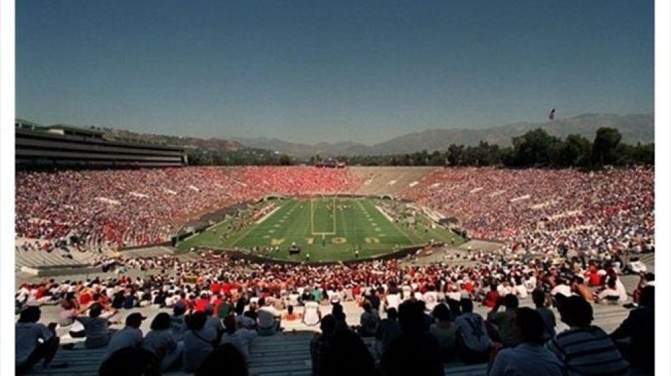 <strong>7. Rose Bowl: </strong>Ubicado en Pasadena, Estados Unidos. Actualmente tiene una capacidad de 92.542 espectadores.