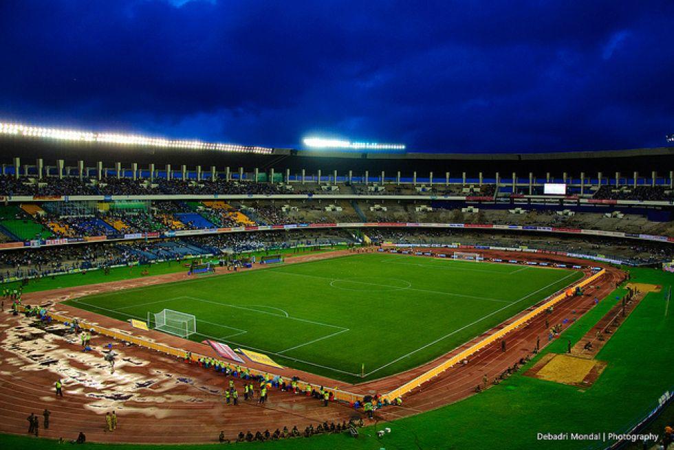 <strong>2. Salt Lake Stadium: </strong> El estadio de la Juventud India es el más grande de la India y tiene capacidad para 135.000 personas
