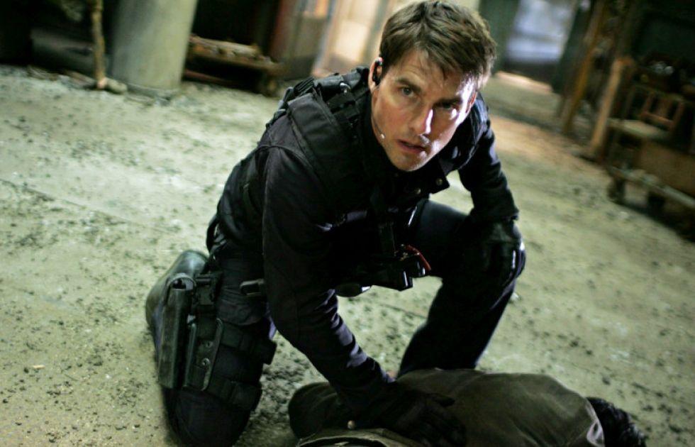 Tom Cruise, en un momento de una de sus pel�culas