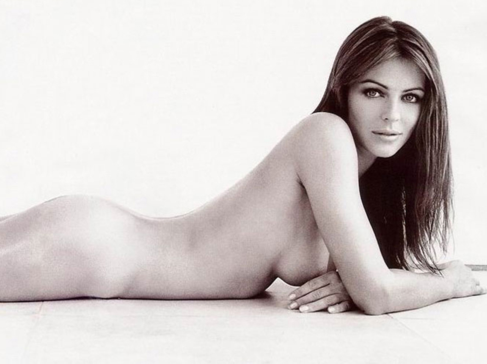 Elizabeth hurley sexy and topless