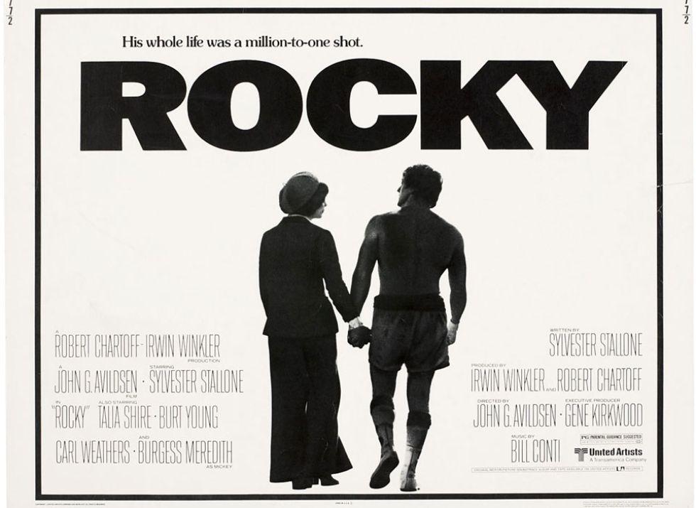 Sylvester Stallone es Rocky Balboa, uno de los personajes de ficción más famosos de la historia del cine. La película tuvo hasta cinco secuelas.