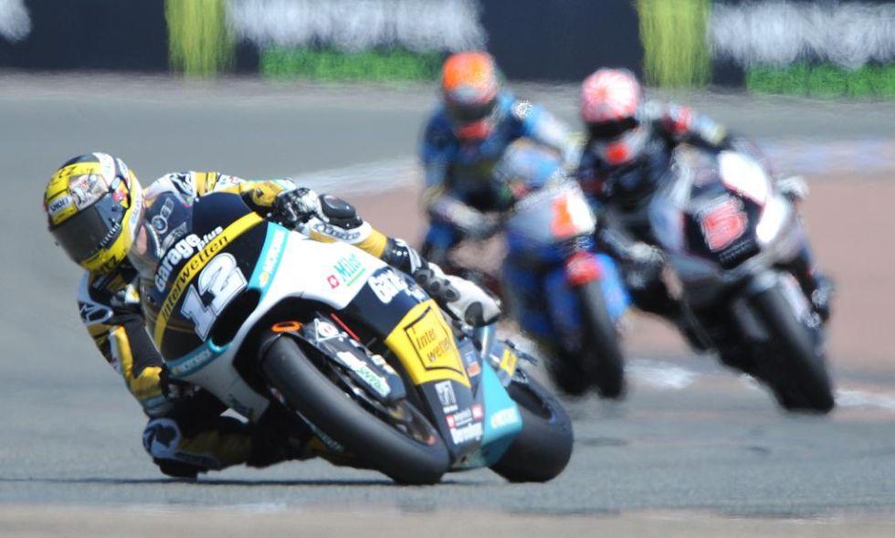 Thomas Luthi domin� de principio a fin en Moto2.