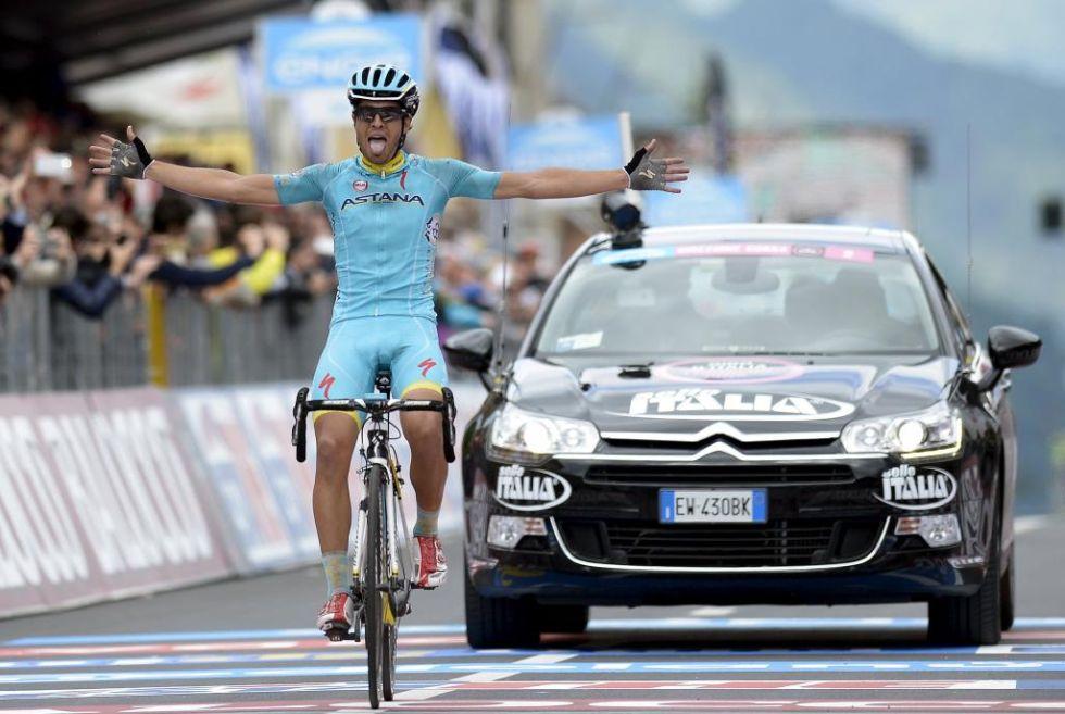 Mikel Landa est� demostrando en este Giro que el ciclismo espa�ol tiene relevo de cara a las grandes vueltas. Hoy, nueva victoria de etapa y ya 2� en la general.