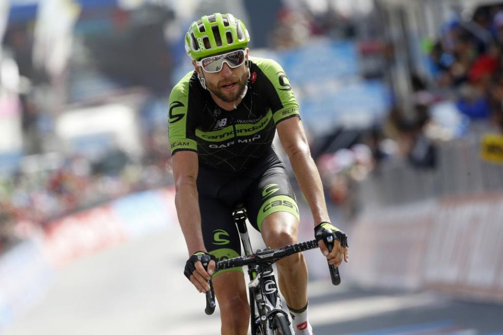 Hesjedal est� terminando de forma impresionate este Giro de Italia luchando con los mejores de la general.