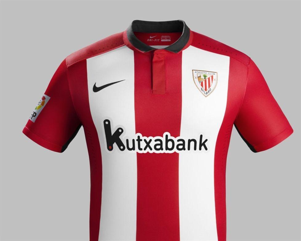 1c1fad89d69c8 La equipación que vestirá el Athletic Club la temporada 2015-2016 tendrá  como principales novedades