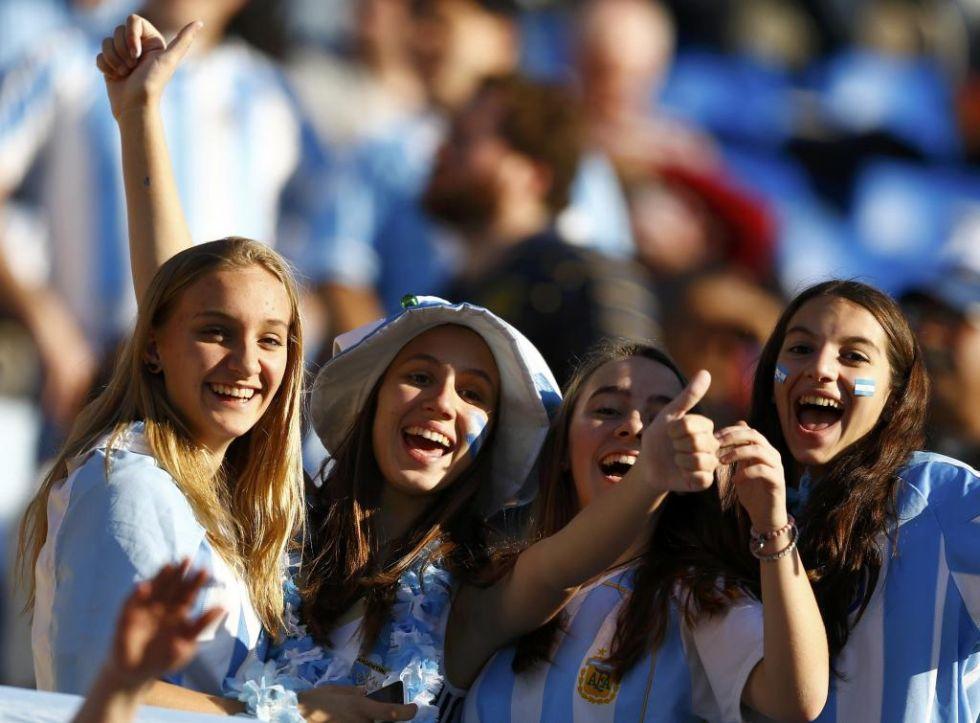 Aficionadas de Argentina en Viña del Mar