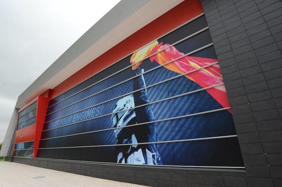 Fachada del museo Fernando Alonso.