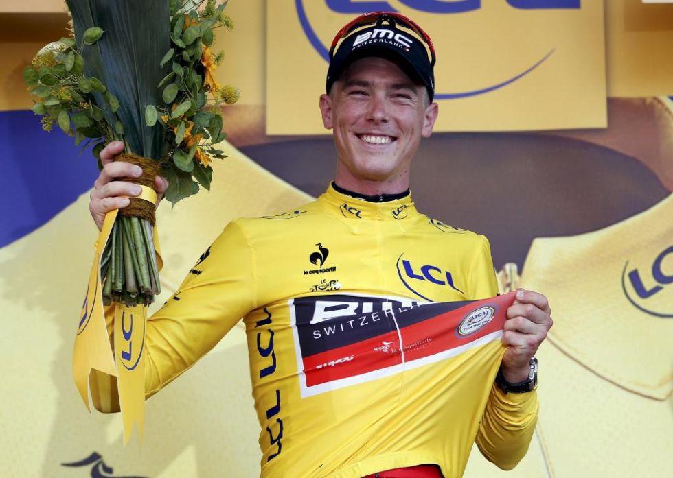 El joven australiano ganó la contrarreloj y logró el récord de la etapa más rápida de la historia del Tour, al completar los 13,8 kilómetros a 55,446 kilómetros por hora.