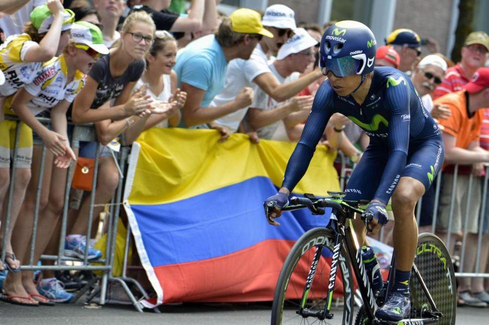 El colombiano firmó un tiempo de 15:57