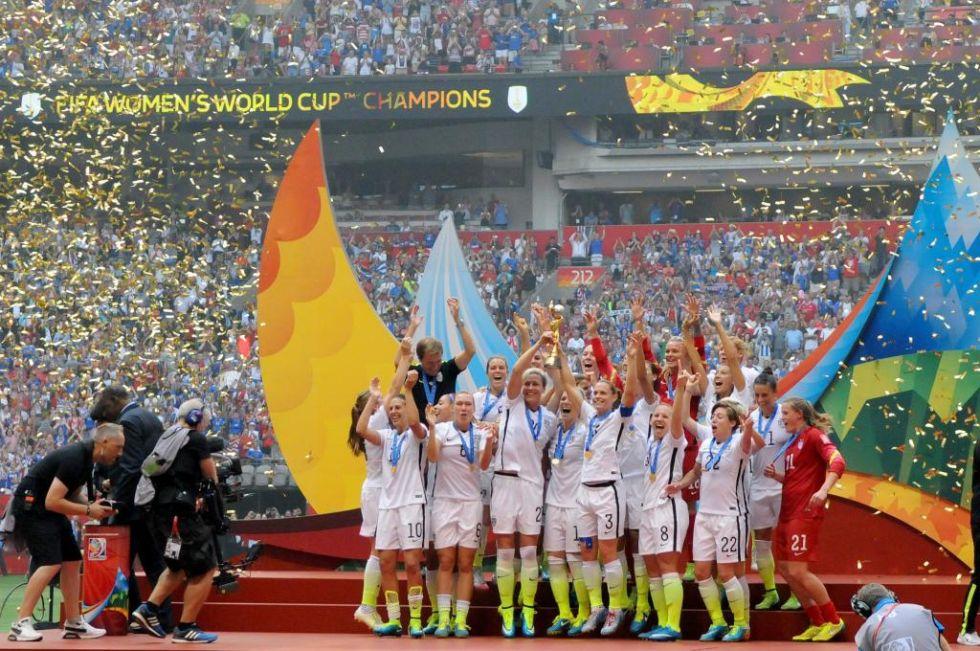Estados Unidos ya ha alzado el título de campeones del mundo en tres ocasiones.