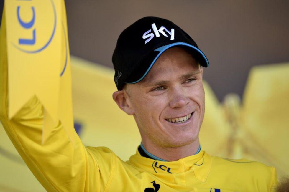 Gracias a su espectacular ascensi�n a Huy, Froome es nuevo l�der del Tour