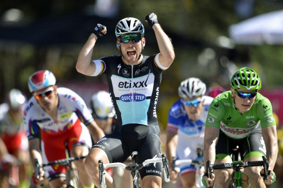 El ciclista brit�nico se estren� por fin en esta edici�n del Tour despu�s de varios d�as qued�ndose cerca. Ya suma 26 etapas en la ronda gala