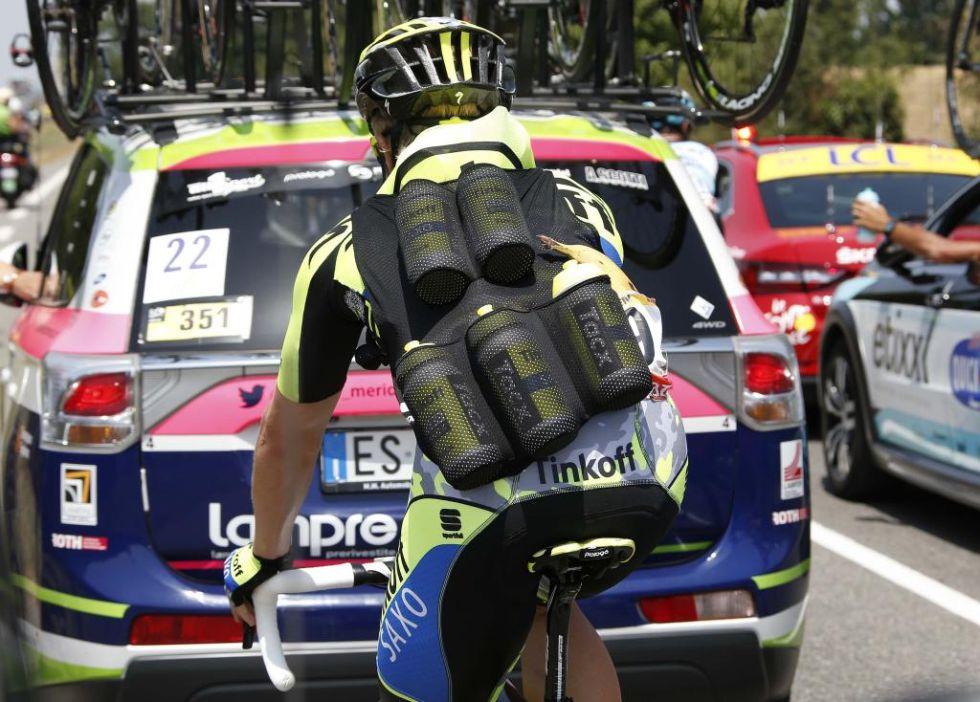 Michael Valgren es uno de esos muchos ciclistas anónimos pero vitales para sus líderes.