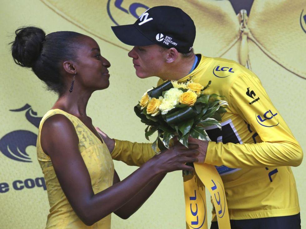 Chris Froome est� cada vez m�s cerca de ganar su segundo Tour.