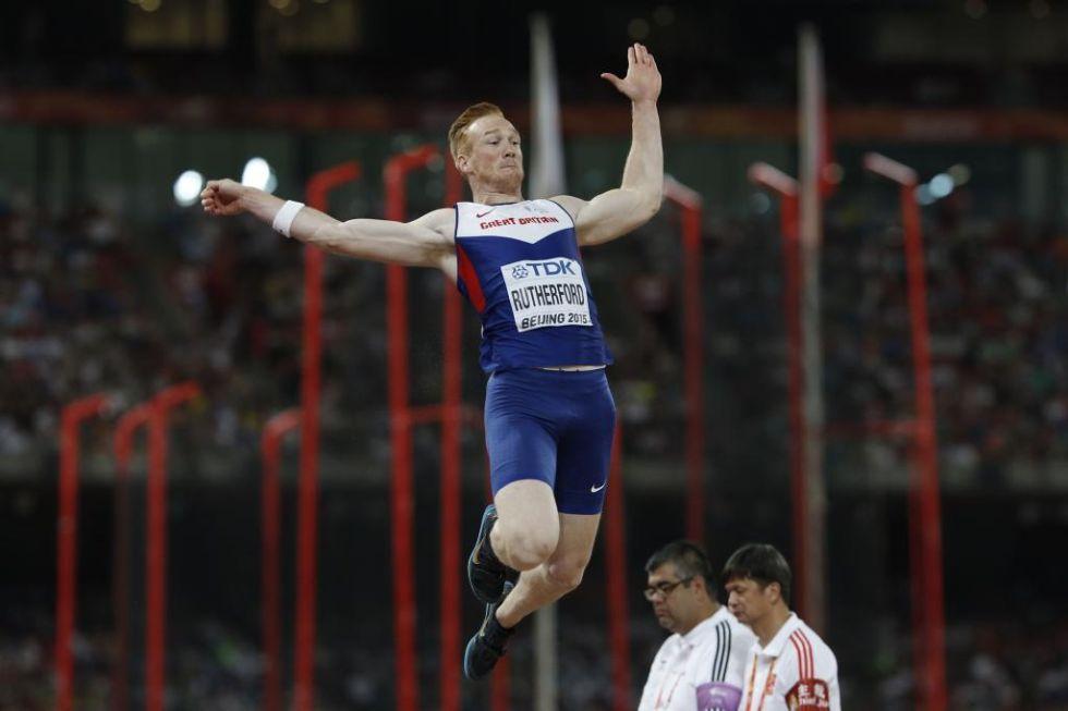 Con solo dos saltos v�lidos, el brit�nico domin� la prueba de salto de longitud desde el inicio hasta el final.
