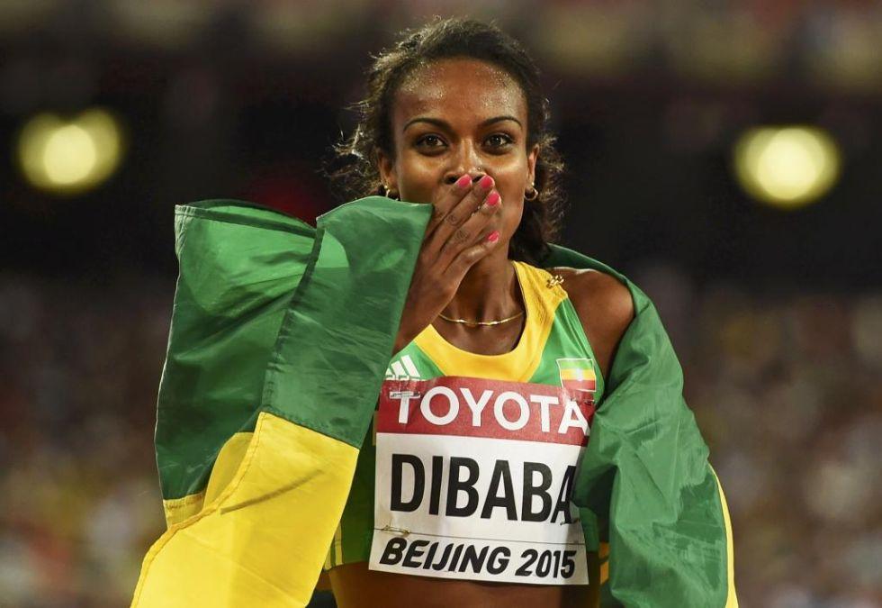 Genzebe Dibaba demostr� que ganar�a en casi cualquier distancia. Realiz� un 800 final que la sit�a en niveles nunca vistos. Reina absoluta del 1.500.