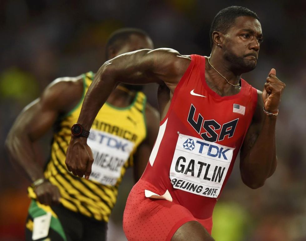 Justin Gatlin tiene ante s� otra oportunidad de callar a los que achican su figura. Gan� con sobriedad su serie de 200.