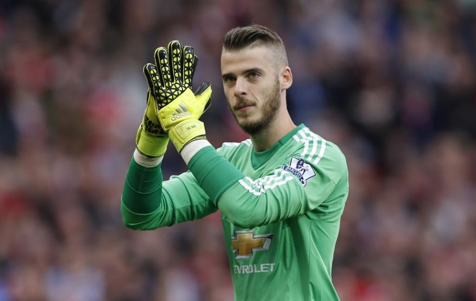 De Gea enjoyed the affection of the United fans once again.