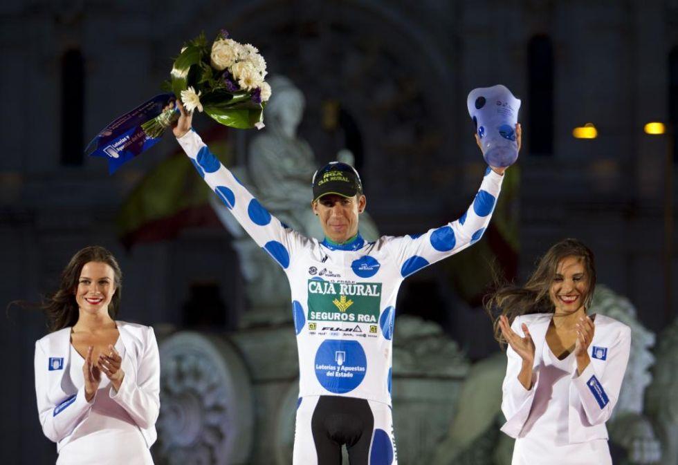 El vizcaíno merece un reconocimiento. Primera participación en la Vuelta y maillot de la montaña.