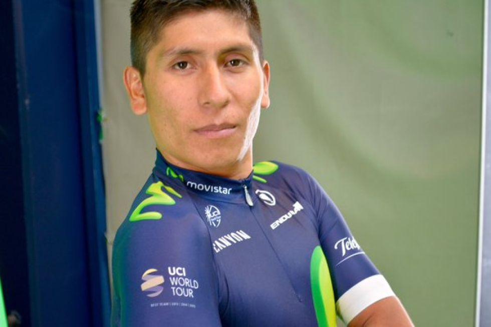 Nairo Quintana intentar� conquistar su primer Tour de Francia con este nuevo maillot.