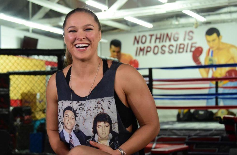 Luchadora estadounidense de artes marciales mixtas.