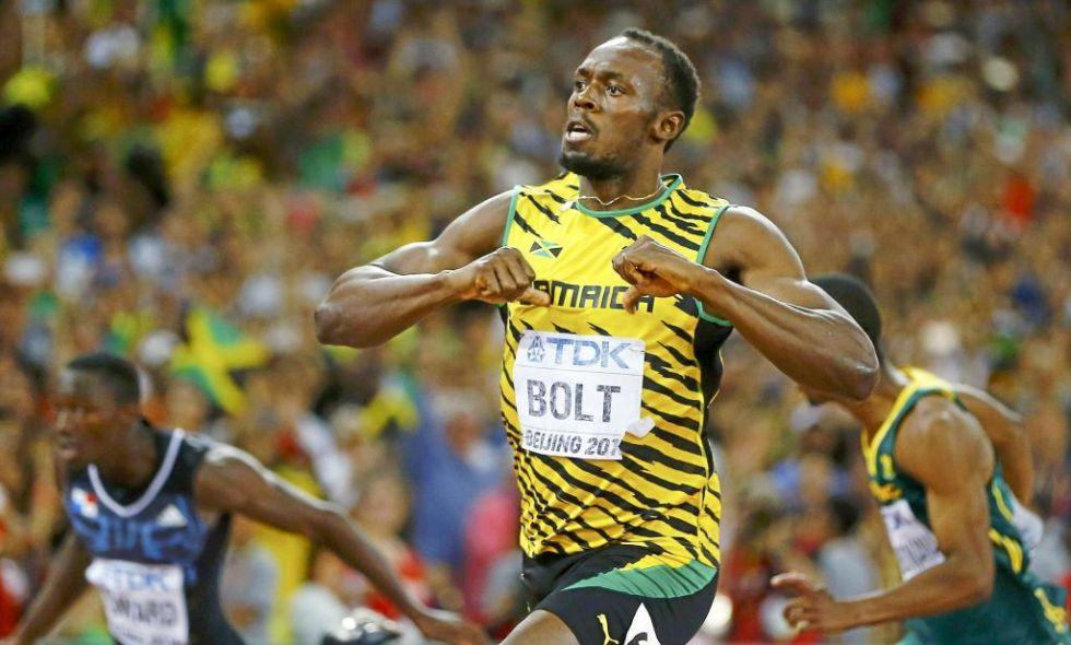 La referencia en el atletismo va a toda velocidad. Usain Bolt, recordman mundial de los 100 metros, es el atleta con m�s influencia social. El ranking de Runner's World le sit�a a la cabeza. Sus intervenciones en las redes sociales dejan patentes sus aficiones, as� como su pasi�n por el Manchester United.