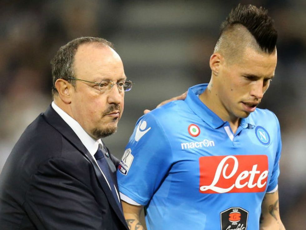 """There's a big difference between Rafa Benitez and Maurizio Sarri. Napoli work much harder now, both physically and tactically""."