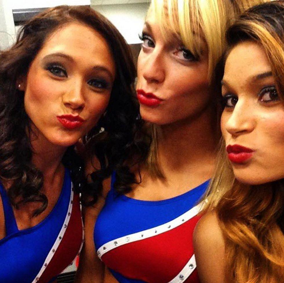 Cheerleaders de los Pistons