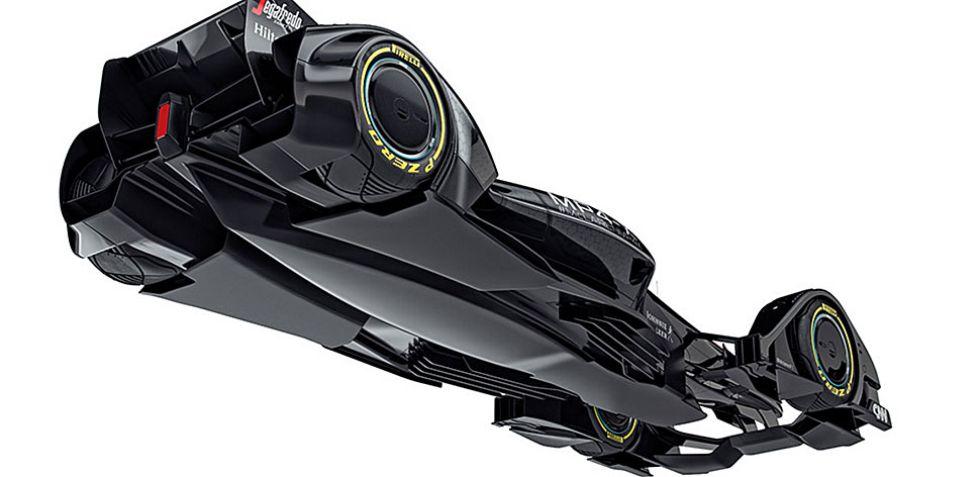 El concepto de McLaren como modelo de lo que debe ser el monoplaza del futuro en la F�rmula 1 visto al detalle.