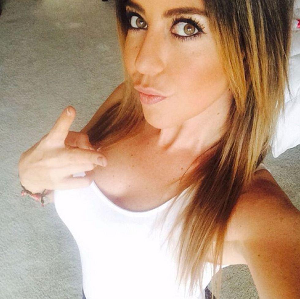 Mariana Zacar�as, fan de la NBA en M�xico