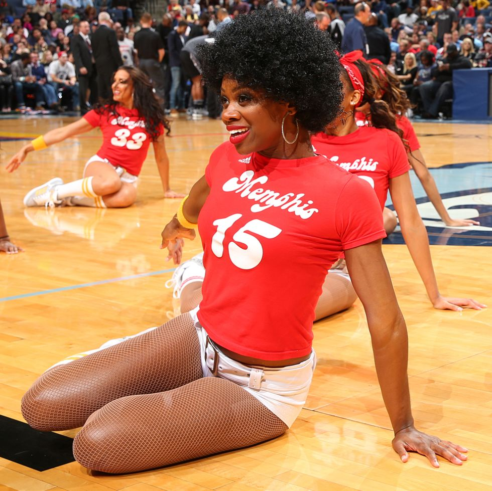 Memphis Grizzlies cheerleaders