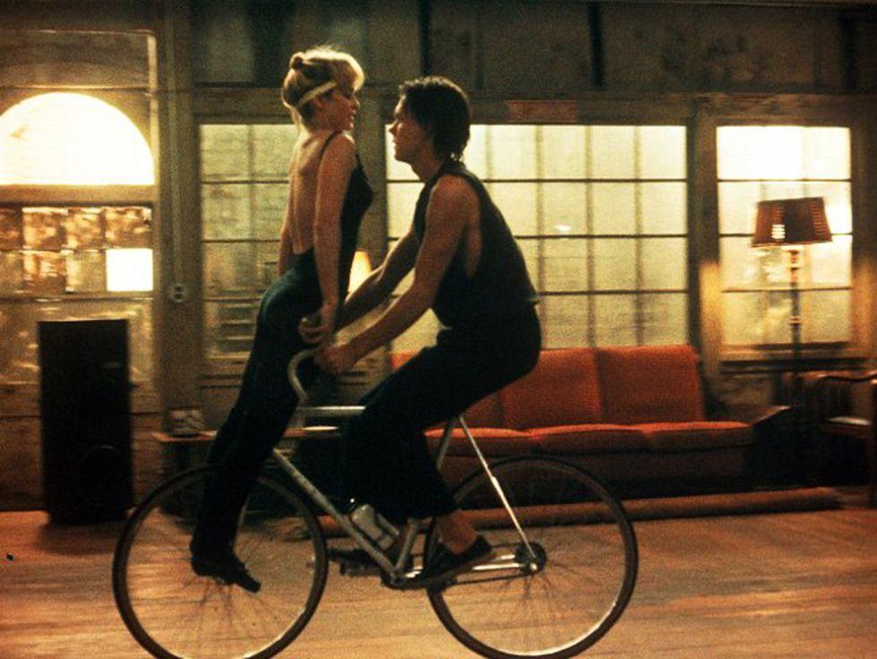 Kevin Bacon y Whitney Kershaw en Quicksilver (1986)