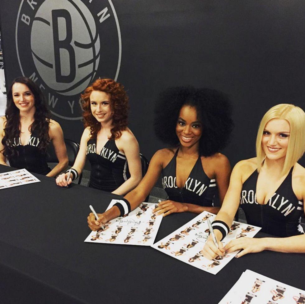 Brooklynettes, cheerleaders de los Nets