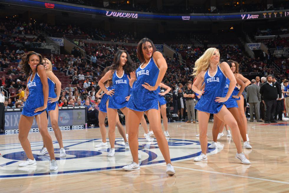 Philadelphia Sixers cheerleaders