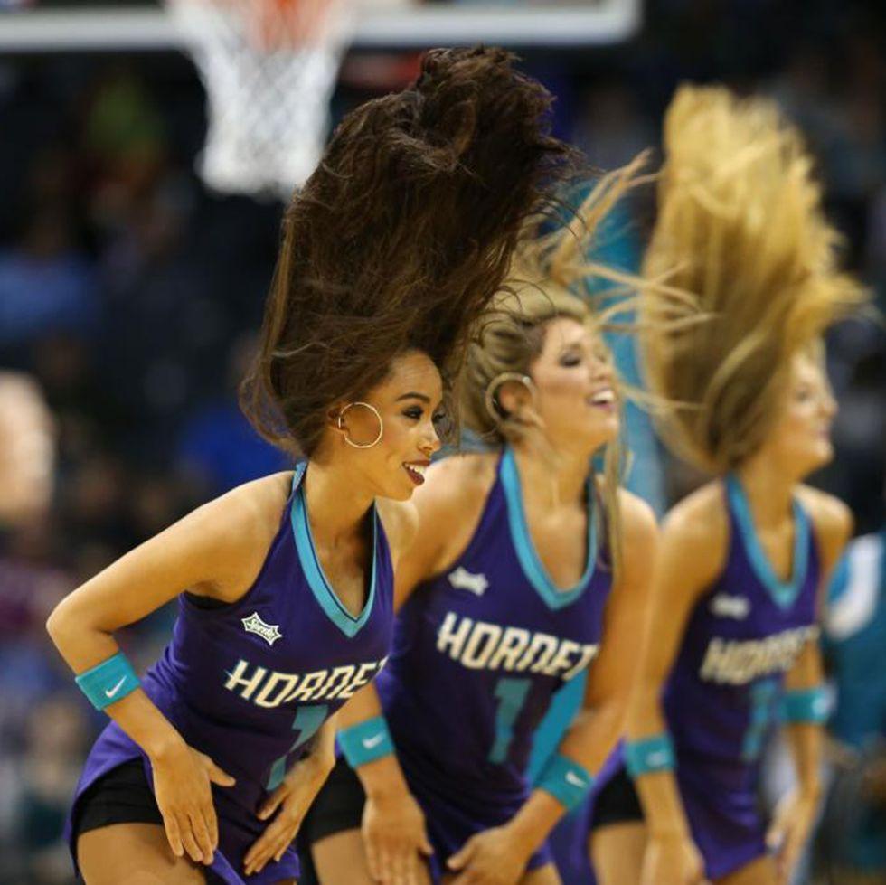 Charlotte Hornets cheerleaders
