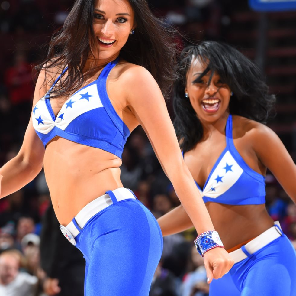 Philadelphia Sixers cheerleaders