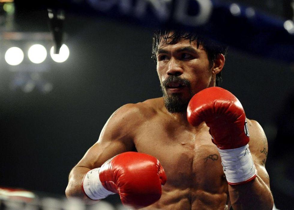 2. Manny Pacquiao. El boxeador filipino, considerado uno de los mejores de la historia, es el segundo deportista más influyente en las redes sociales.