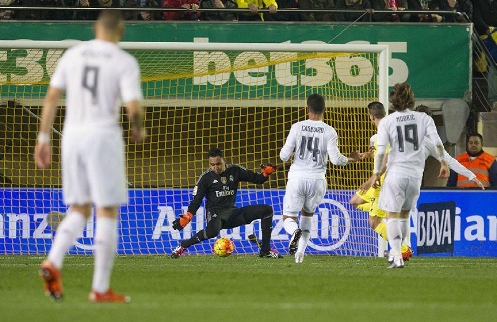Minuto 9 del partido y el Villarreal se adelantaba en el marcador