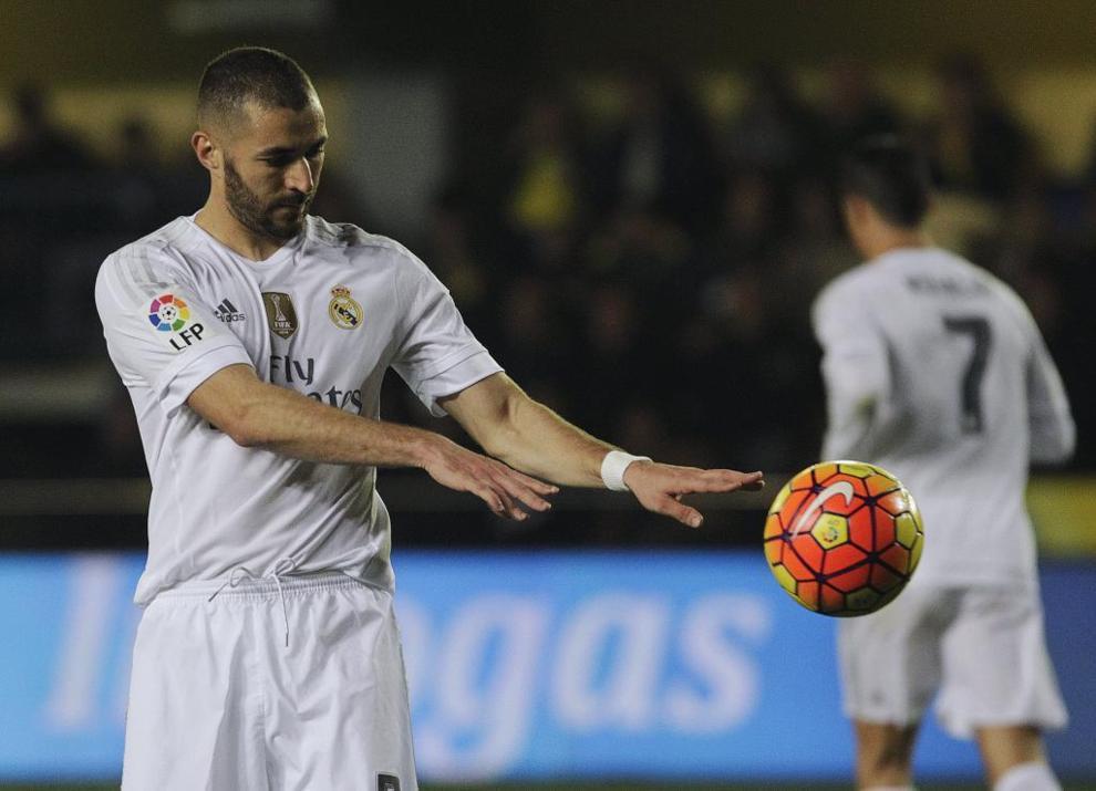Karim Benzema, esta vez, se quedó sin marcar.