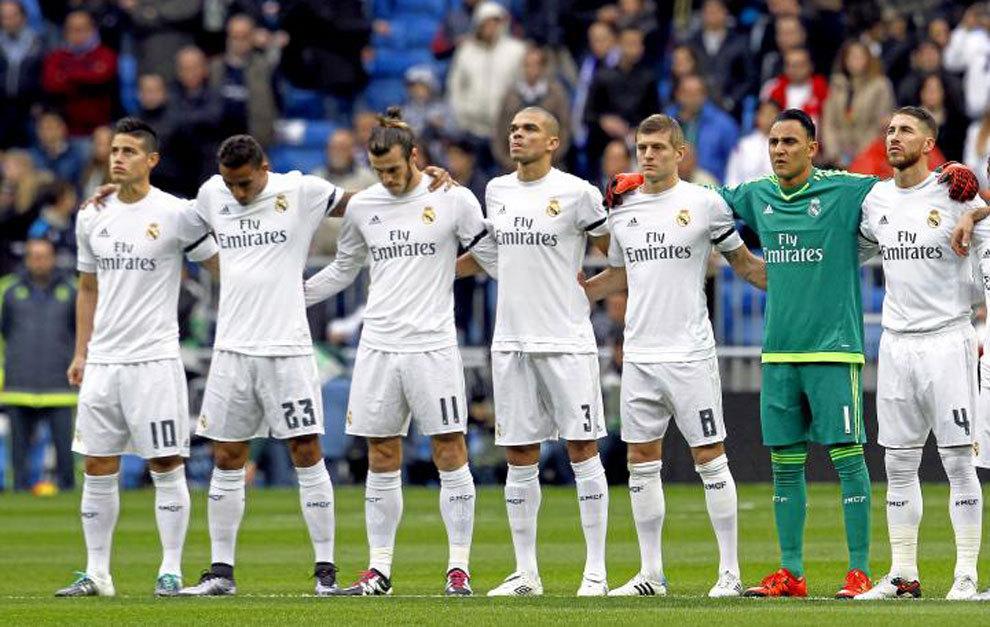 43072754749e4 Valora a los jugadores del Real Madrid