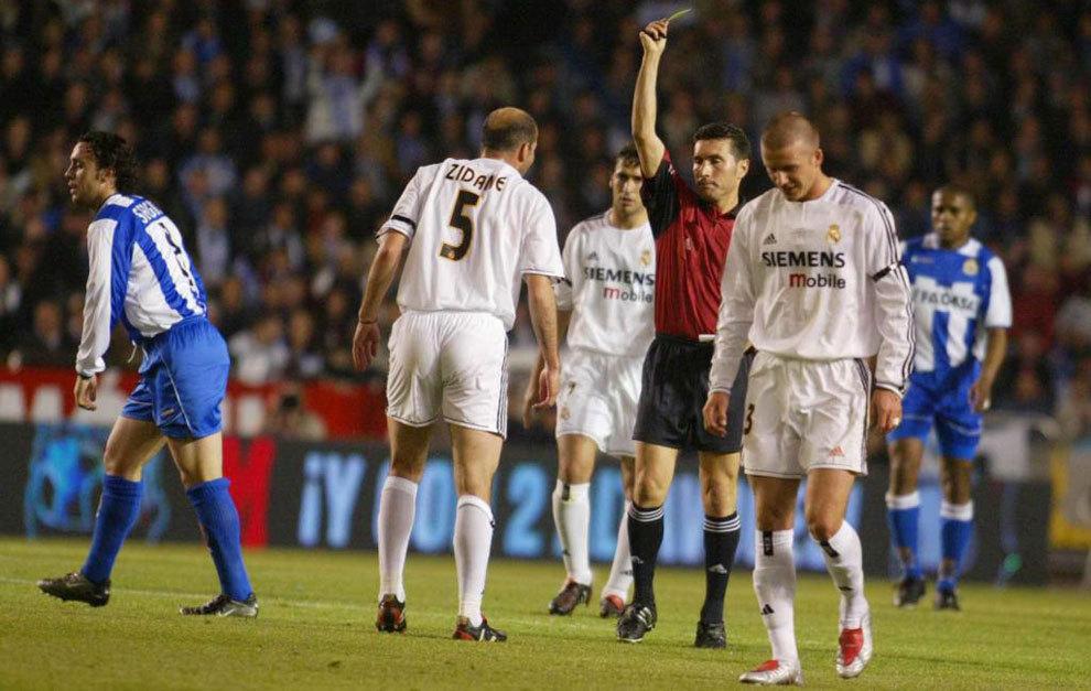 Cuando Zidane Vio La Roja Directa Contra El Deportivo Marca Com